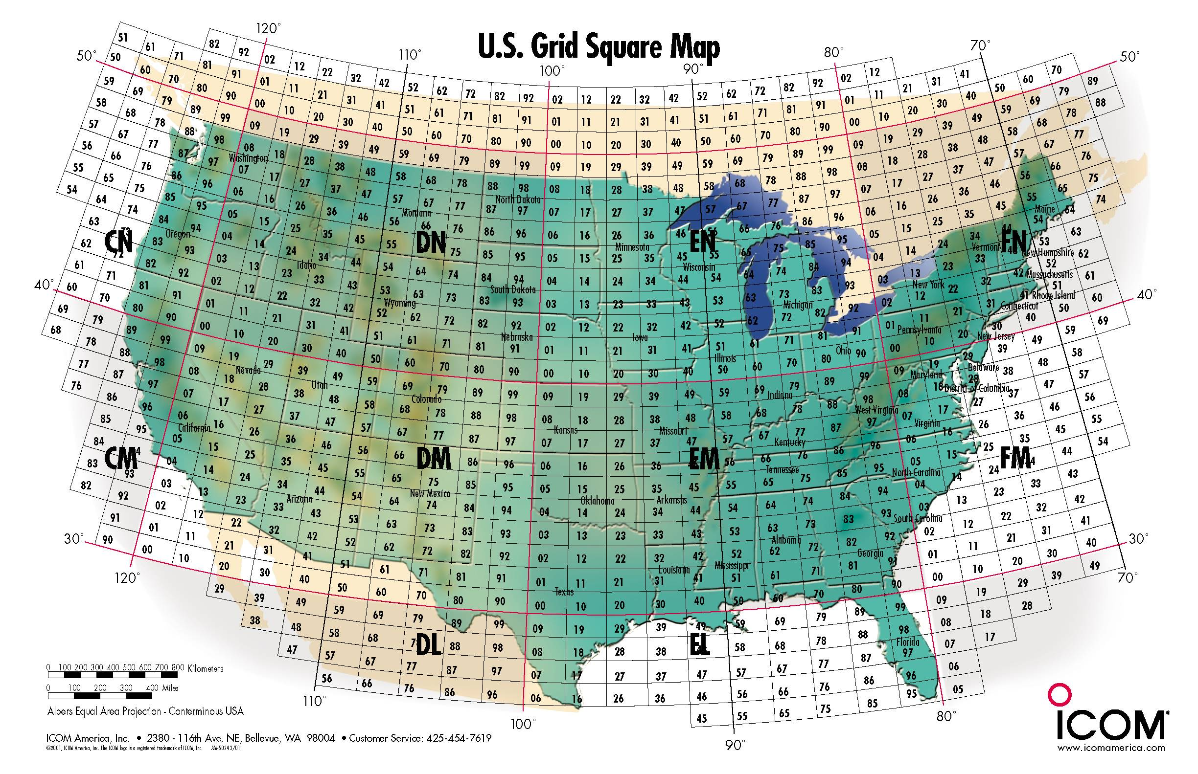N6spd grid square maps usa grid squares map gumiabroncs Gallery